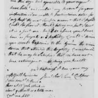 Samuel Culper to Benjamin Tallmadge, July 5, 1783
